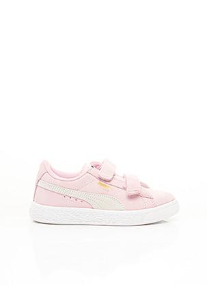 Baskets rose PUMA pour enfant