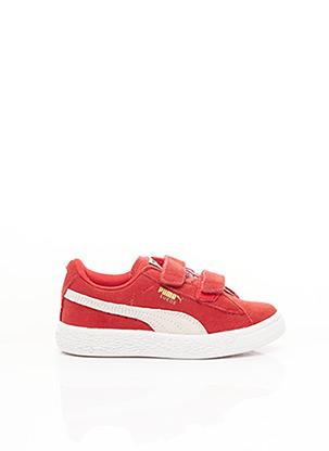 Baskets rouge PUMA pour enfant
