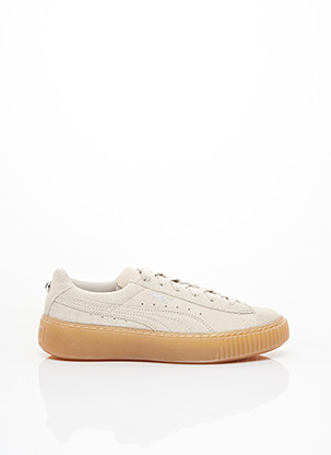 Baskets beige PUMA pour femme