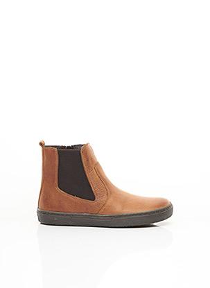Bottines/Boots marron UBIK pour fille