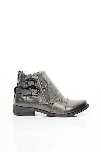 Bottines/Boots gris KDOPA pour femme