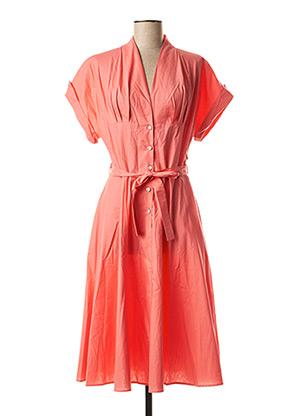 Robe mi-longue rose MOLLY BRACKEN pour femme