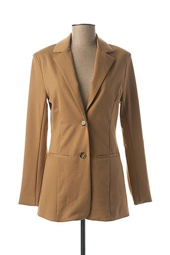 Veste chic / Blazer beige CREAM pour femme