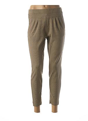 Pantalon casual marron CREAM pour femme