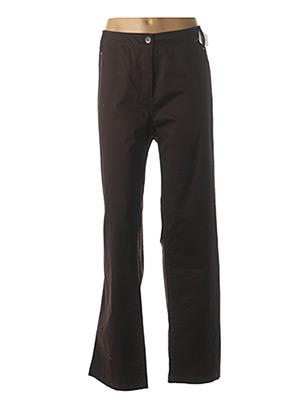 Pantalon casual marron JAC JAC pour femme