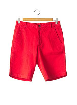 Bermuda rouge HARRIS WILSON pour homme