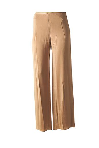 Pantalon casual marron BLEU BLANC ROUGE pour femme