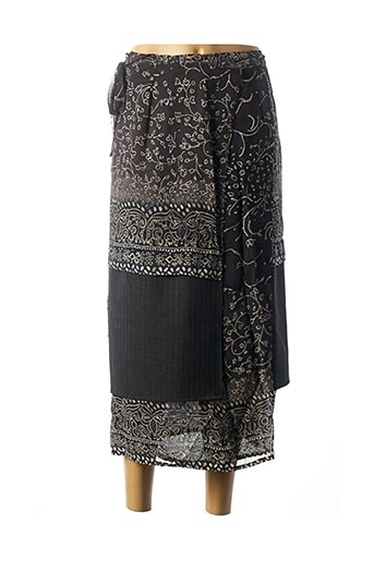 Jupe mi-longue gris BLEU BLANC ROUGE pour femme