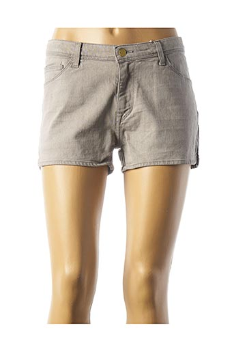 Short gris DES PETITS HAUTS pour femme