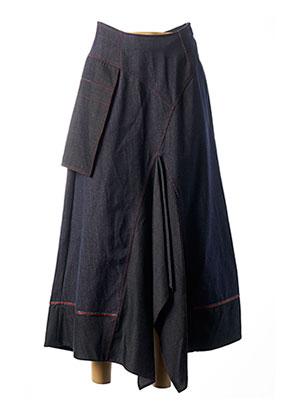 Jupe longue bleu BATISTE pour femme
