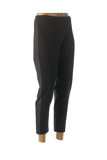 Pantalon 7/8 noir DESAIVRE pour femme