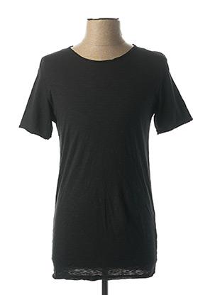 T-shirt manches courtes noir IMPERIAL pour homme