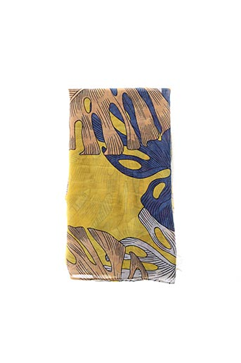 Foulard jaune IMPERIAL pour femme