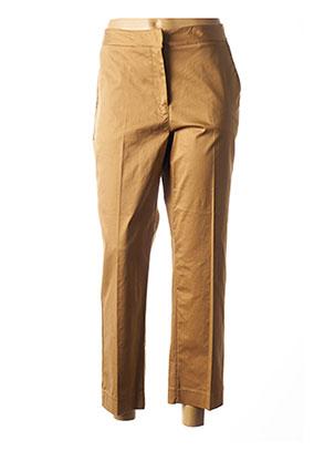 Pantalon casual beige DIXIE pour femme