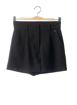 Short noir DIXIE pour femme