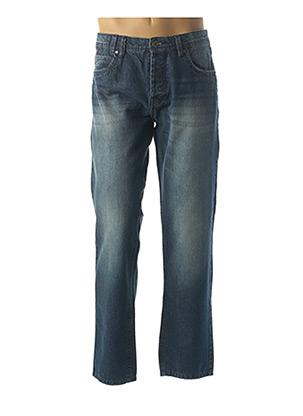 Jeans coupe droite bleu HOPENLIFE pour homme