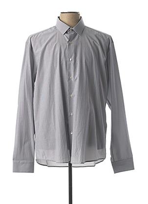 Chemise manches longues gris ENZO DI MILANO pour homme
