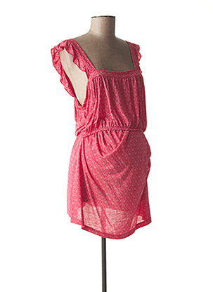 Robe courte rouge BOOB pour femme
