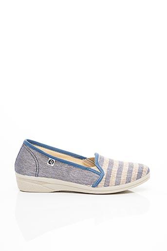 Chaussures de confort bleu ROAL pour femme