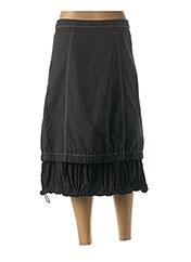 Jupe mi-longue noir L33 pour femme seconde vue