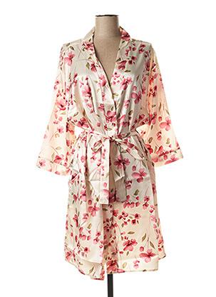 Robe de chambre beige WAITE'S LINGERIE pour femme