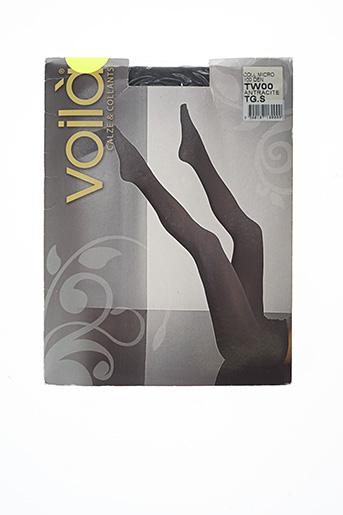 Collants gris VOILA pour femme