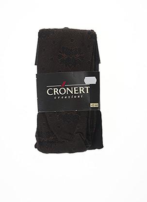 Collants marron CRONERT pour femme