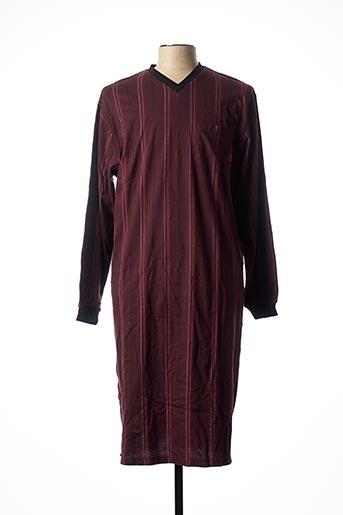 Pyjama rouge HAJO pour homme