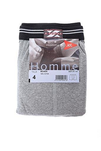 Shorty/Boxer gris JET pour homme