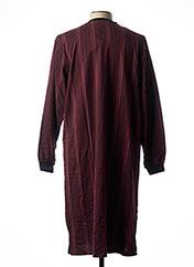 Pyjama rouge HAJO pour homme seconde vue