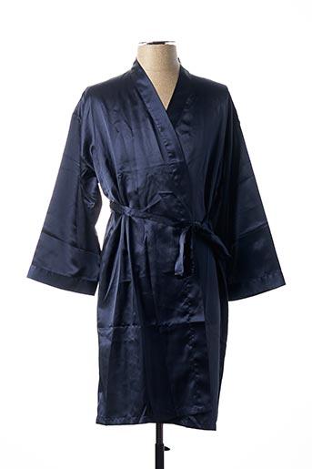 Robe de chambre bleu CHANGE pour femme