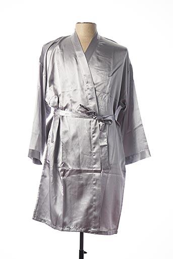 Robe de chambre gris CHANGE pour femme