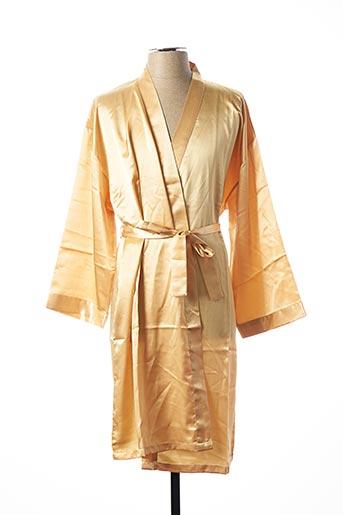 Robe de chambre jaune CHANGE pour femme