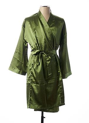 Robe de chambre vert CHANGE pour femme