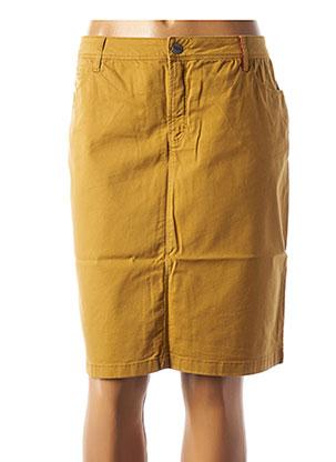 Jupe courte jaune COUTURIST pour femme