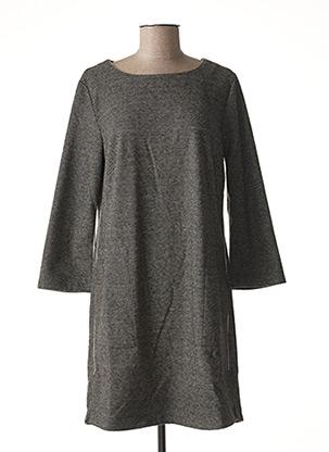 Robe pull gris DENIM &DRESS pour femme