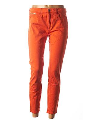 Pantalon 7/8 orange COUTURIST pour femme