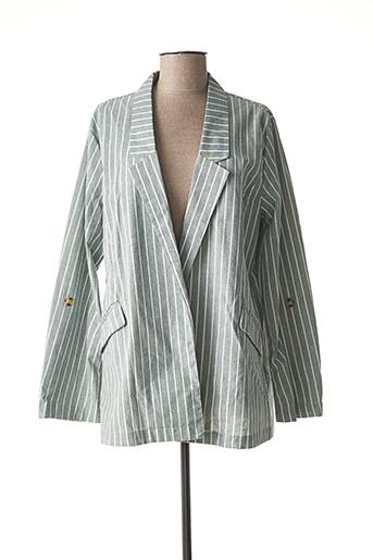 Veste chic / Blazer gris CHRISTY pour femme
