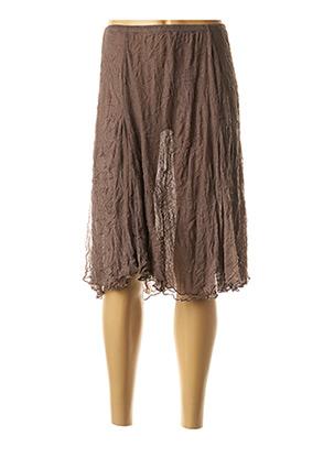Jupon /Fond de robe marron MADO ET LES AUTRES pour femme