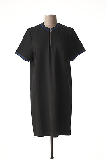 Robe mi-longue noir FRIDAY pour femme