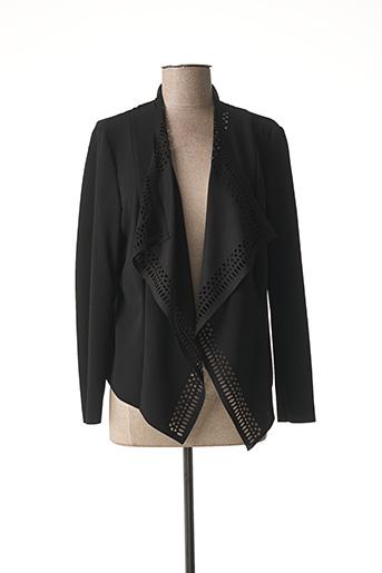 Veste casual noir RINASCIMENTO pour femme