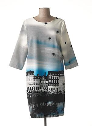 Robe mi-longue gris COP COPINE pour femme