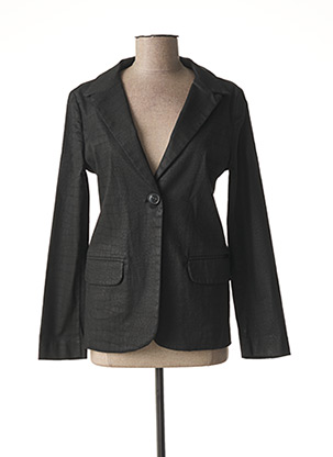 Veste chic / Blazer noir KANOPE pour femme