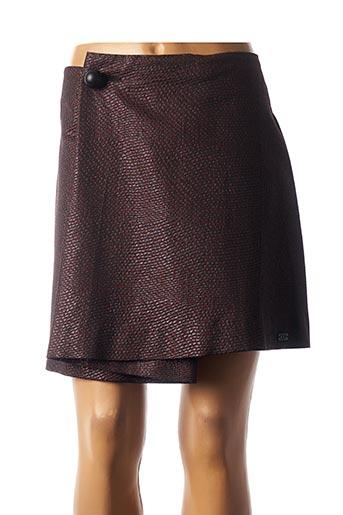 Jupe courte rouge COP COPINE pour femme