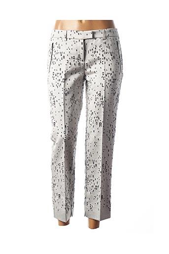 Pantalon 7/8 gris COP COPINE pour femme