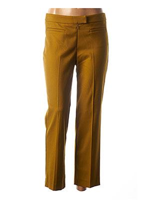 Pantalon chic marron COP COPINE pour femme