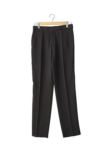 Pantalon chic noir FRANCK ELISEE pour homme