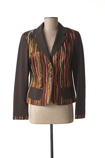 Veste casual marron ROSA ROSAM pour femme