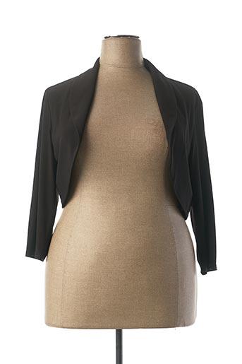 Veste casual noir FRANK LYMAN pour femme