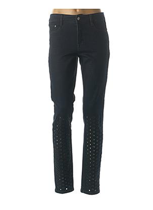 Jeans coupe slim bleu JOSEPH RIBKOFF pour femme